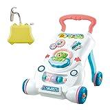 Renywosi Andador Bebé Primeros Pasos 2en1, Andador De Actividades para Bebés...