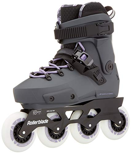 Find Discount Rollerblade Twister Edge W Skates Grey, Women, Anthracite/Lilac, 255