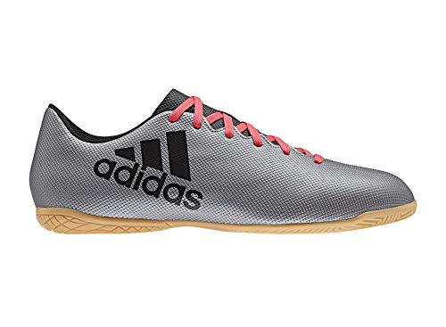 adidas X Tango 17.4 In, Zapatillas de Fútbol para Hombre, Gris (Grey/Core Black/Real Coral S18), 42 EU