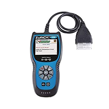 zr8 OBD2 Code Reader with Live Data for 1996 and Newer Vehicles with OBD Port