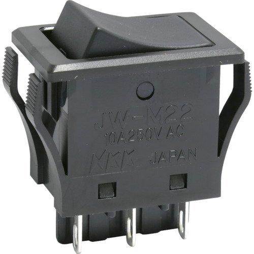 NKKスイッチズ(株) NKKスイッチズ ロッカスイッチ JW−Mシリーズ 2極 ON−ON JW-M22RKK 413-2017 《スイッチ》
