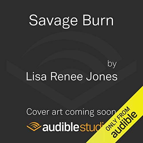 Savage Burn audiobook cover art