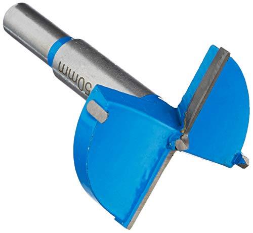 Silverline Tools 228526 Broca Forstner con Revestimiento de Titanio, 50 mm Diámetro del Disco, multicolor