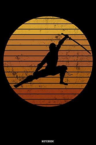 Notebook: Ninja Journal | Samurai Warrior Notebook | Gift idea for Japanesse Culture lovers | Ninja composition book | Bushido zen writing book | Birthday present