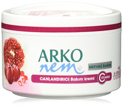 Arko Nem pomegranate and red grape, face, hand and body cream 300 ml