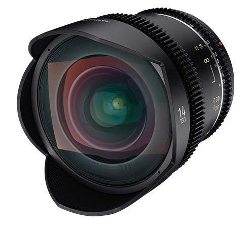 Samyang MF 14mm T3,1 VDSLR MK2 Sony E, Negro