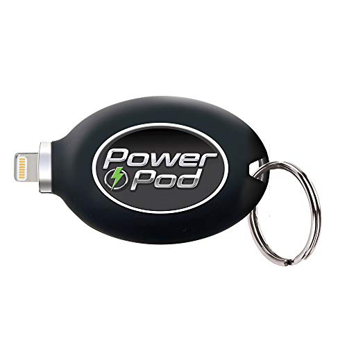 Ontel Power Pod Portable Phone Charger with Lightning Connector,...