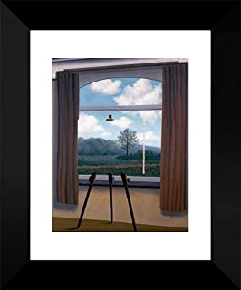 The Human Condition 15x18 Framed Art Print by Magritte, Rene