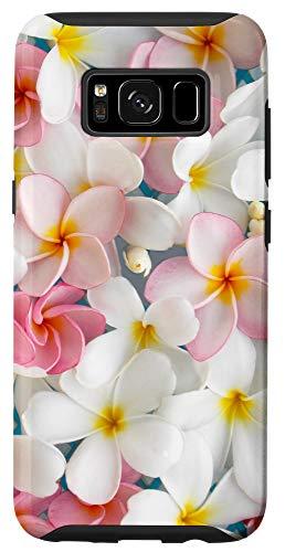 Galaxy S8 Plumeria Flower Pretty Garden Hawaii Case