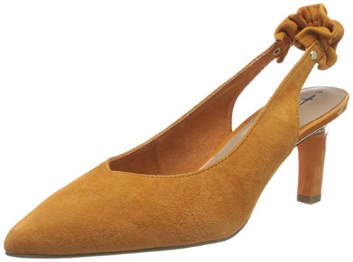 Tamaris Damen 1-1-29602-24 Slingback Pumps, Orange (Sunset Suede 621), 41 EU