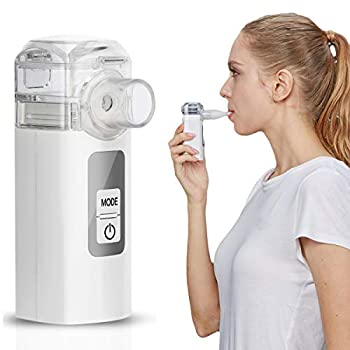MGLIFMLY Mini Handheld Vaporizers Portable Steam Vaporiser Compact Personal Vaporiser for Kids and Adults Fine Mist for Better and Deeper Absorption…