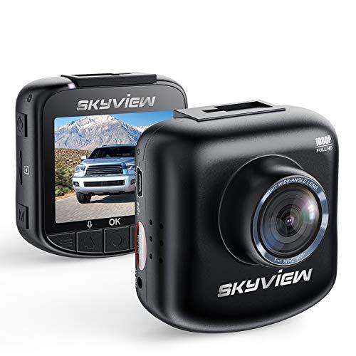 Dash-Camera-Skyview D200 Car-Camera-Security Parking-Mode-Dash-Camera Motion-Sensor-Dash-Cam-Mini-Battery-Powered-DashCam Best-Deal-1080P-Durable