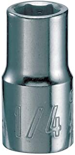 CRAFTSMAN Shallow Socket, SAE, 1/4-Inch Drive, 1/4-Inch, 6-Point (CMMT43493)