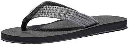 KENSBUY Flip Flops Men Lightweight Summer Flip-Flop Comfort Thongs Sandals Beach Slipper Extra Large Size