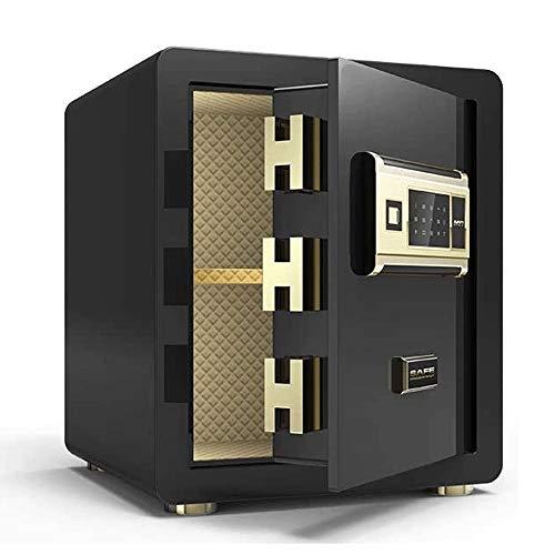 YIBOKANG Cajas de seguridad de seguridad, cajas fuertes del gabinete, 45 cm de alta seguridad Electronic Digital Safe Todas las cajas fuertes de contraseña de huellas dactilares de acero, caja de caja