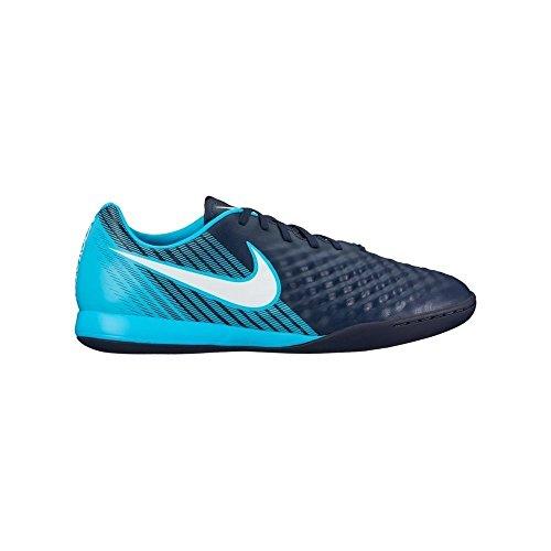 Nike Herren Magista X ONDA II IC 844413 Fußballschuhe, Blau (Obsidian Blau/Weiß-Gamma Blau-Gletscher Blau 414), 44.5 EU