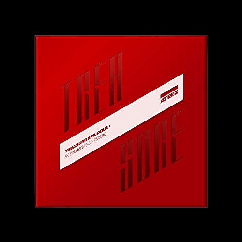 KQ Entertainment ATEEZ - Treasure Epilogue : Action to Answer [A ver.] Album+Folded Poster+Extra Photocards Set