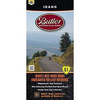 Butler Maps G1 State Maps  Idaho