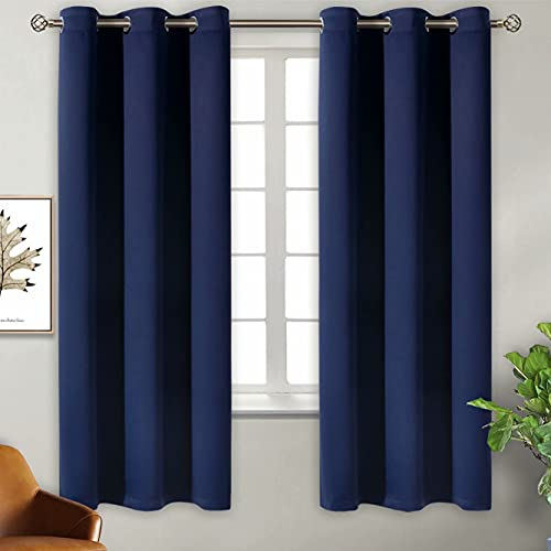 BGment Blackout Curtains for Bedroom - Grommet Thermal Insulated Room Darkening Curtains for Living...