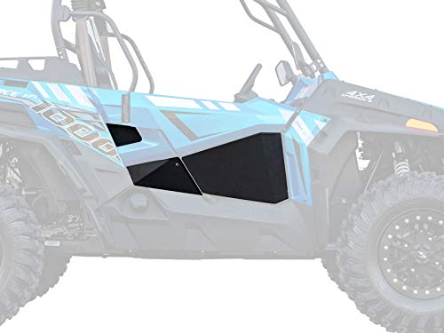 SuperATV Aluminum Lower Doors for 2018 CFMOTO ZForce 800 Trail / 800 EX | 2018-2019 CFMOTO ZForce 1000 | 1 Pair- Right and Left Doors | Rattle-Free Fit | Power Coated for Durability!