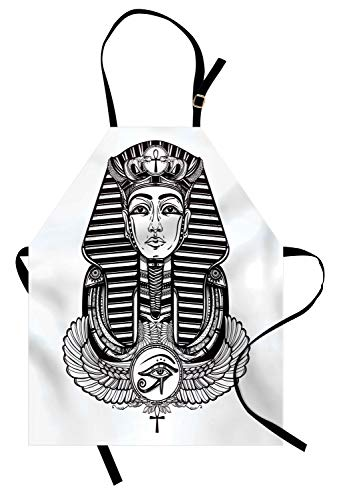 ABAKUHAUS Egiziano Grembiule, Faraone Tatuaggio Vintage,...