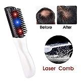 MEISHENG Rayo infrarrojo Cabello Crecimiento láser Pelo Peine eléctrico inalámbrico Anti pérdida vibración Hairbrush Cabeza Masaje relajación
