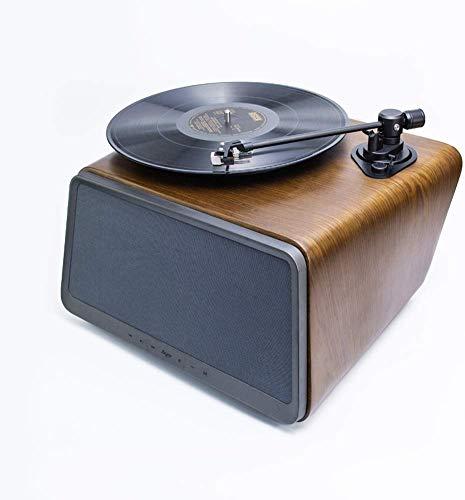YWAWJ Vinyl-Plattenspieler Retro-Plattenspieler Plattenspieler Lautsprecher Multifunktions-Bluetooth-Audio Audio Vinyl LP Plattenspieler Plattenspieler Vintage Style Vinyl-Plattenspieler