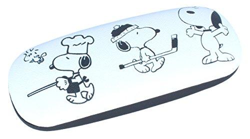 Snoopy als Koch- Funda para gafas infantiles con bisagra de metal