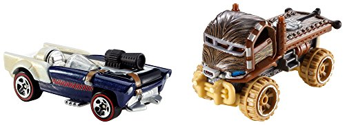 Hot Wheels - Pack Voiture Star Wars Chewbaca (Mattel CGX03)