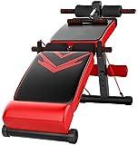 OESFL Utilidad de Banco de ejercicio de entrenamiento banco del entrenamiento ajustable Utilidad de Banco de ejercicio ajustable Sentado placa de la mesa se inclina - Abdominales pupitre de aparatos d