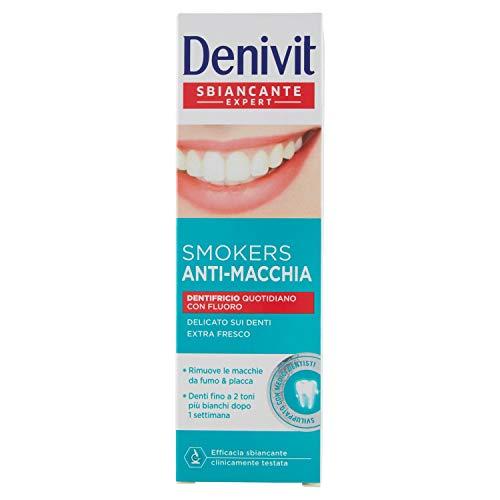 Denivit - Dentifricio Smokers Antimacchia,...
