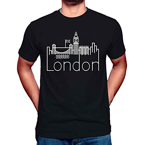 Funny Mens London T-Shirt Travel Summer tee Big Ben Tumblr Street Unisex