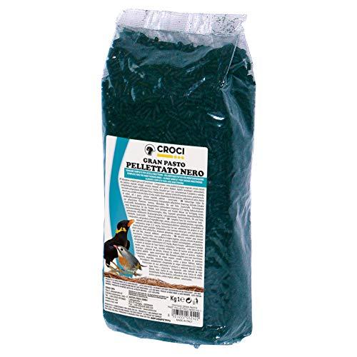Croci Gran Pasto Comprimes pour Oiseau Noir 1 Kg - Lot de 6
