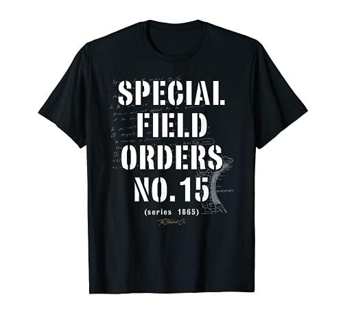Reparaciones ADOS Órdenes Especiales de Campo N° 15 TheBlackest Co. Camiseta