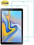 Eachy Vetro Temperato Samsung Galaxy Tab A 10.5 Pellicola Protettiva, [2 Pezzi] Protezione Schermo per Samsung Galaxy Tab A 10.5 (SM-T590/SM-T595)-10.5 Pollici