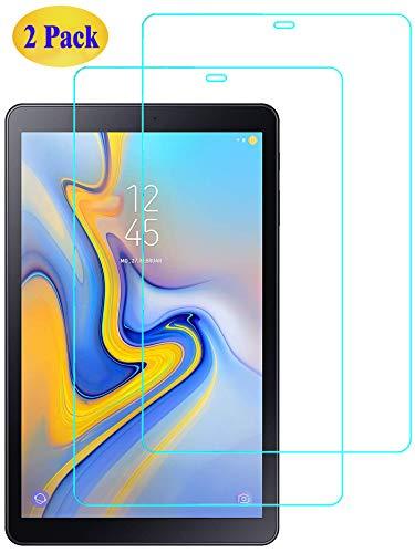 Eachy Samsung Galaxy Tab A 10.5 Panzerglas Schutzfolie,[2 Stück] Ultra-klar Displayschutzfolie für Samsung Galaxy Tab A 10.5 (SM-T590/SM-T595) Panzerglasfolie 10.5 Zoll (0,33 mm)