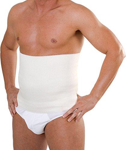 Panciera termica uomo donna misto lana cintura fascia lombare senza cucitura Egi (7-XXL)