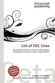 List of Fgc Lines