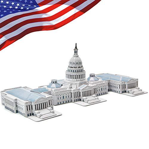 CubicFun 3D Puzzles for Adults Kids the U.S. Capitol Architectures...