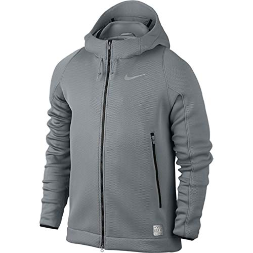 Nike [807082-065] HYPERMESH Basketball Jacket Apparel Jackets NIKEGREY
