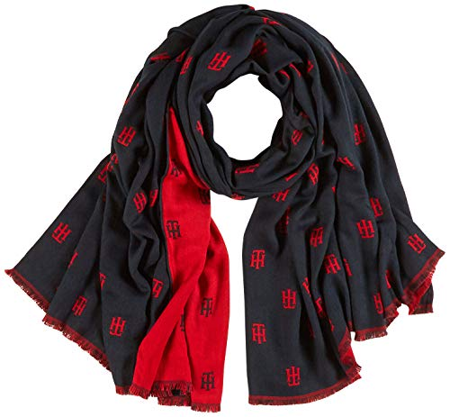 Tommy Hilfiger dames sjaal Th Jacquard Scarf