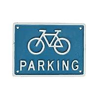 ダルトン Iron sign Bicycle parking R855-994 自転車駐輪場 看板 Blue