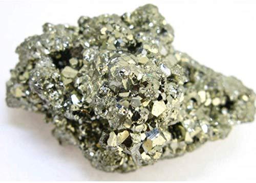 Pirita Chispa de Perú en Bruto de 4 a 9 cm Piedra del Dinero Dorada Mineral 100% Natural