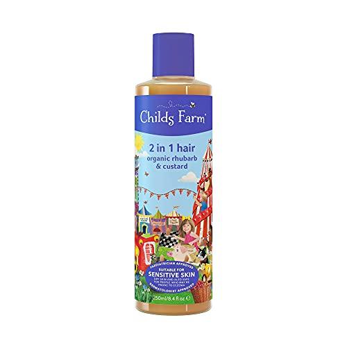 Childs Farm - Childrens 2 in 1 Shampoo & Conditioner, Sensitive Skin,...