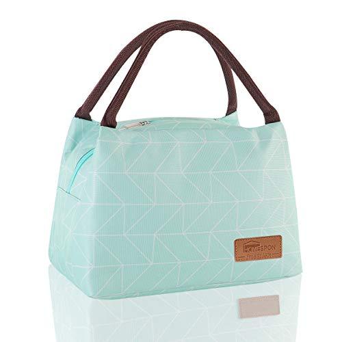 HOMESPON Lunchtasche süße Kühltasche für Lunchboxen Wasserdichtes Gewebe Faltbare Picknick-Handtasche für Frauen, Erwachsene, Studenten und Kinder