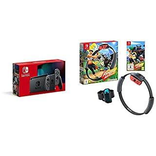 Nintendo Switch (Grey) + Ring Fit Adventure (B07YM682J9) | Amazon price tracker / tracking, Amazon price history charts, Amazon price watches, Amazon price drop alerts