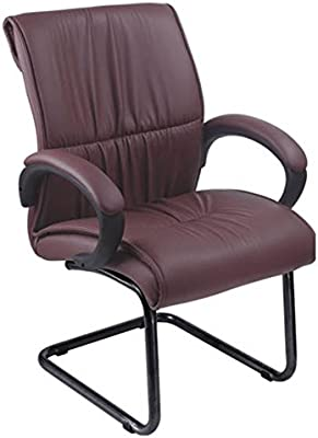 Mavi Attractive Look Brown Visitor Chair-DVC-475