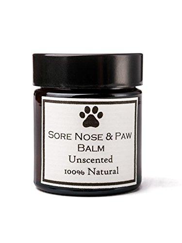 Clovelly Soap Co. Natürliche handgemachte Hundenase & Pfote Hautbalsam Duftfrei für alle Rassen 30g Dose