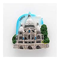 XHYRB 磁気3D冷蔵庫ステッカーワールドツアー冷蔵庫マグネット旅行土産コレクションギフト 小さくて便利 (Color : Paris France)