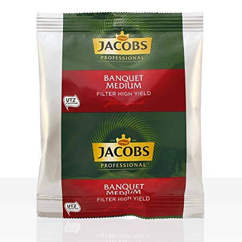 Jacobs Bankett Temperamentvoll 42 x 60g Kaffee gemahlen + 50 Korbfilter
